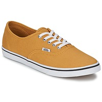 Sapatos Sapatilhas Vans AUTHENTIC LO PRO Mostarda / Branco