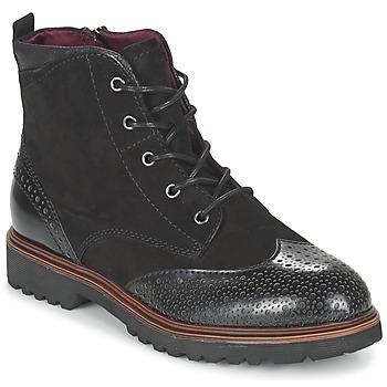 Sapatos Mulher Botas baixas Tamaris SOROLA Preto