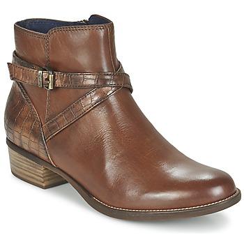 Sapatos Mulher Botas baixas Tamaris ISTRA Avelã