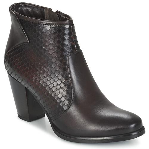 Sapatos Mulher Botins Tamaris PREGOLIA Castanho