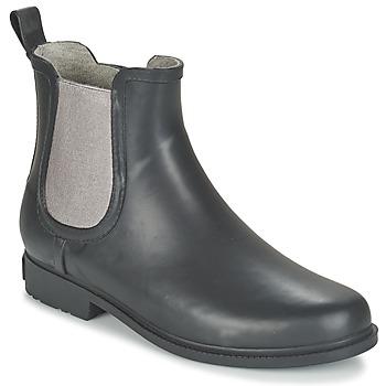 Sapatos Mulher Botas baixas Marc O'Polo LATTA Preto