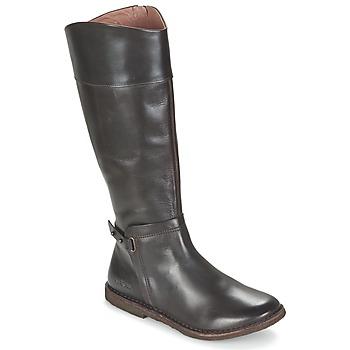 Sapatos Mulher Botas Kickers CRICK Castanho / Escuro