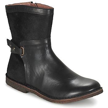 Sapatos Mulher Botas baixas Kickers CRICKET Preto