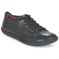 Sapatos Mulher Sapatos Kickers HOLLYDAY Preto