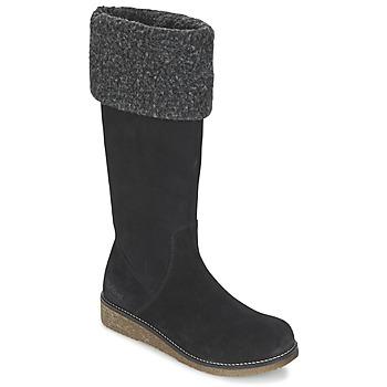 Sapatos Mulher Botas Kickers KARINE Preto