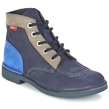 Sapatos Mulher Botas baixas Kickers KICK COL Marinho