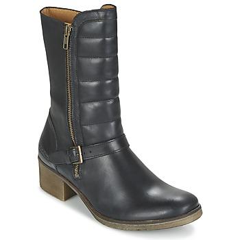 Sapatos Mulher Botas baixas Kickers MILLIER Preto