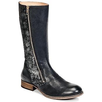 Sapatos Mulher Botas Kickers PENNYHO Preto / Brilhante