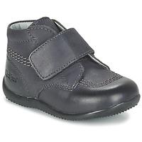 Sapatos Criança Botas baixas Kickers BILOU Preto