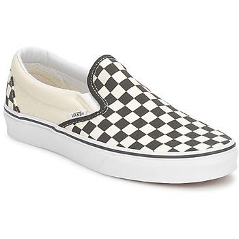 Sapatos Slip on Vans CLASSIC SLIP ON Preto / Cru