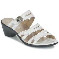 Sapatos Mulher Chinelos Romika Gorda 01 Branco