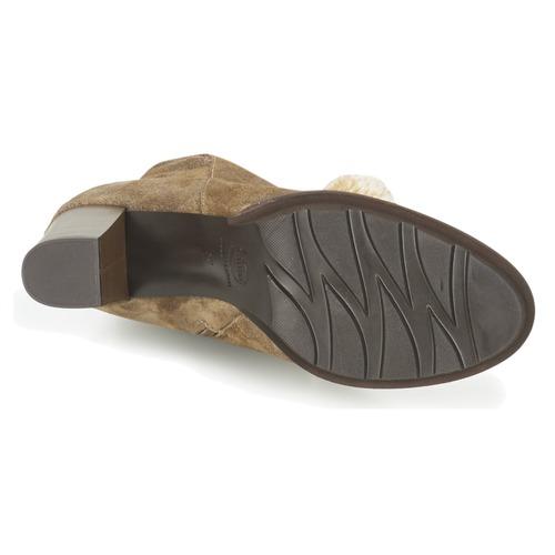 Fericelli Fahra Bege - Entrega Gratuita Sapatos Botins Mulher 6960