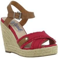 Sapatos Mulher Alpargatas Refresh 61746 Rojo