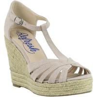 Sapatos Mulher Alpargatas Refresh 61805 Beige