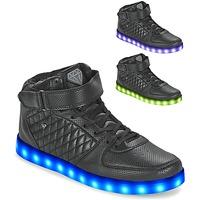 Sapatos Homem Sapatilhas de cano-alto Cash Money CMS33 LIGHTLORD JAILOR Preto