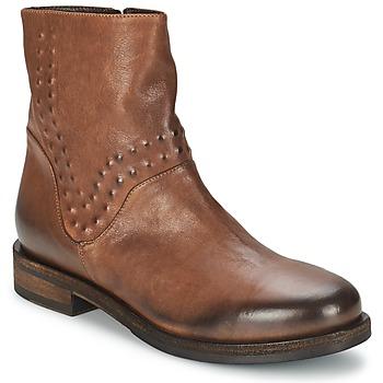 Sapatos Mulher Botas baixas Vic COPENHAGEN Castanho