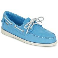 Sapatos Homem Mocassins Sebago DOCKSIDES Azul