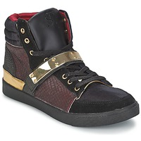 Sapatos Mulher Sapatilhas de cano-alto SuperTrash GOLDY Bordô