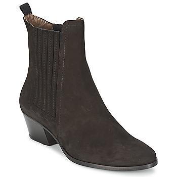Sapatos Mulher Botins Elia B WELL HEELED Preto
