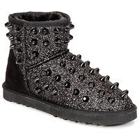 Sapatos Mulher Botas baixas Colors of California MASTIA Preto