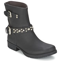 Sapatos Mulher Botas baixas Colors of California JAMBO Preto