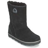 Sapatos Mulher Botas de neve Sorel GLACY Preto