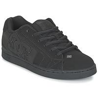 Sapatos Homem Sapatos estilo skate DC Shoes NET Preto / Preto / Preto