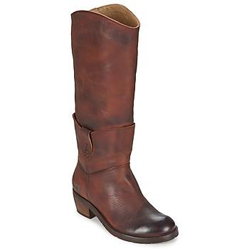 Sapatos Mulher Botas Dkode INDIANA Castanho / Escuro