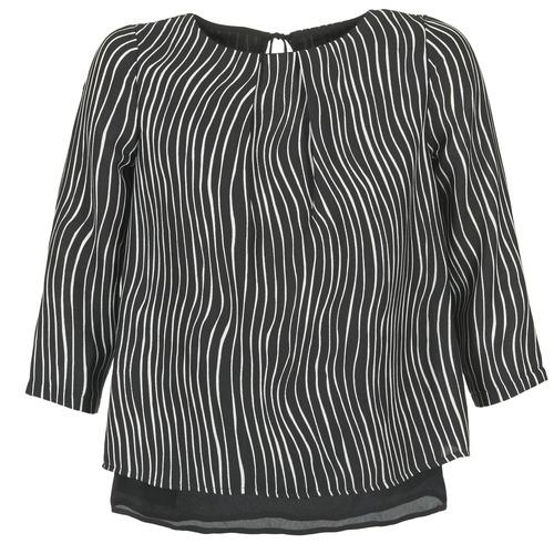 Textil Mulher Tops / Blusas Betty London FADILIA Preto / Branco