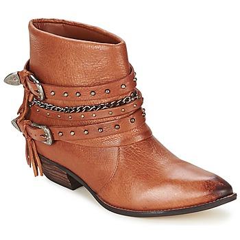 Sapatos Mulher Botas baixas Dumond ZIELLE Castanho