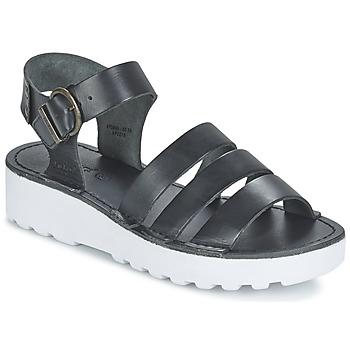 Sapatos Mulher Sandálias Kickers CLIPPER Preto