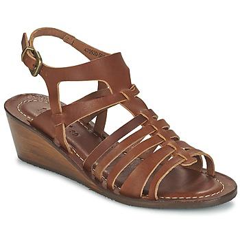 Sapatos Mulher Sandálias Kickers FASTA Castanho