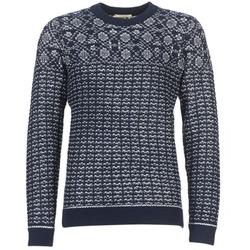 Textil Homem camisolas Selected RUPERT Marinho