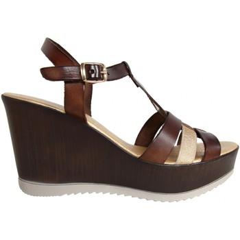 Sapatos Mulher Sandálias Cumbia 30132 ORO-NUEZ Marrón