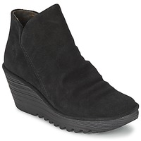 Sapatos Mulher Botas baixas Fly London YIP Preto