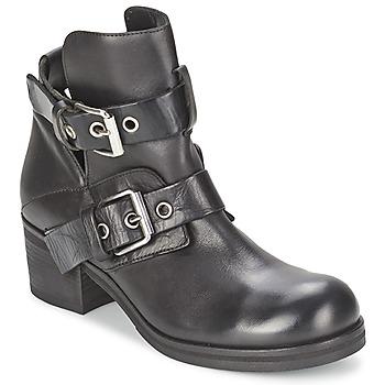 Sapatos Mulher Botins Strategia CRECA Preto