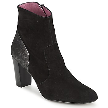 Sapatos Mulher Botins Studio Paloma BABY SILK Preto