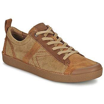 Sapatos Homem Sapatilhas Kickers TRIBAL Camel