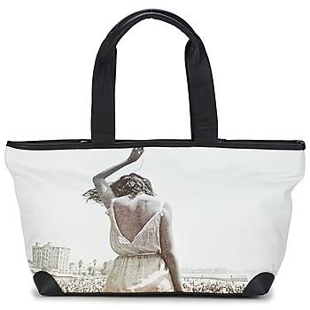 Malas Mulher Cabas / Sac shopping Kothai MICRO GIRL Preto / Cinza