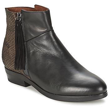 Sapatos Mulher Botas baixas Coqueterra PATRICE Preto