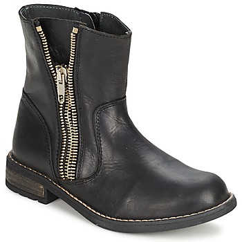 Sapatos Rapariga Botas baixas Little Mary ROCKNROL Preto