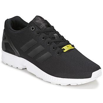 Sapatos Sapatilhas adidas Originals ZX FLUX Preto / Branco