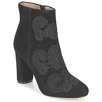 Sapatos Mulher Botins Bocage ELLIOT Preto