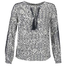 Textil Mulher Tops / Blusas Vila VIETNO Cinza / Branco