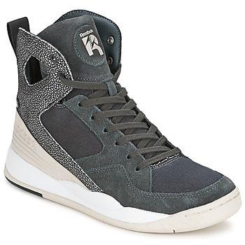Sapatos Mulher Sapatilhas de cano-alto Reebok Classic ALICIA KEYS COURT Cinza / Branco