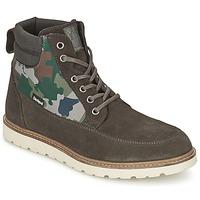 Sapatos Homem Botas baixas Desigual CARLOS Antracite