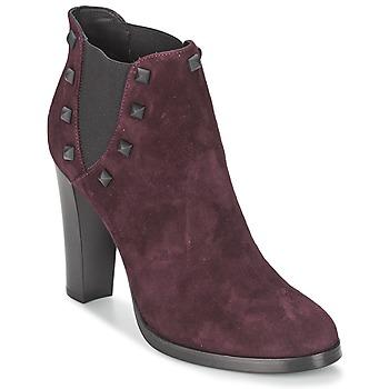 Sapatos Mulher Botins Alberto Gozzi CAMOSCIO NEIVE Bordô
