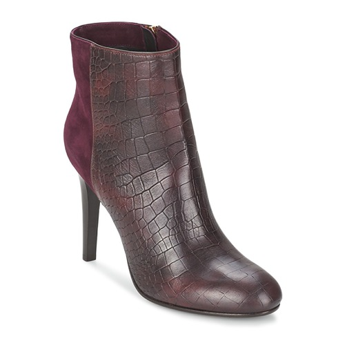 Sapatos Mulher Botins Alberto Gozzi GRINGO MANDORLA Bordô