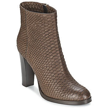 Sapatos Mulher Botins Alberto Gozzi MADRID T MORO Castanho