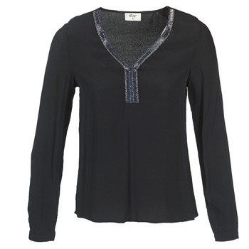 Textil Mulher Tops / Blusas Betty London FALINDI Preto